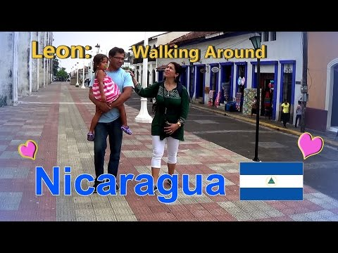 Nicaragua 2016, Vid 13, Leon, Part 3   Walk Around the Local Market 1