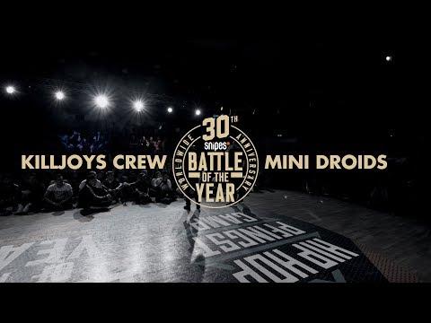 Killjoys Vs Mini Droids | Kids Crew Final | Snipes BOTY CE 2019