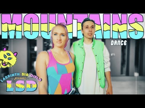 LSD - Mountains ft Sia Diplo Labrinth Dance - Patman Crew Choreography