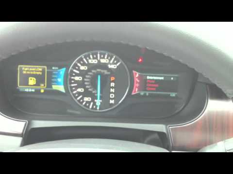2011 Ford Edge: Dashboard Tour