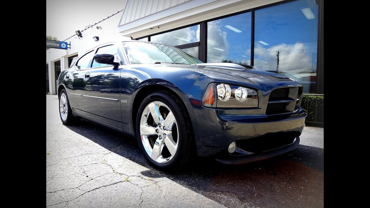 2008 DODGE CHARGER RT Road  Track  YouTube