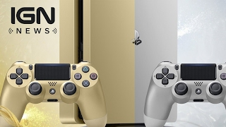 Limited Edition Gold and Silver PS4 Models Coming This Month - IGN News
