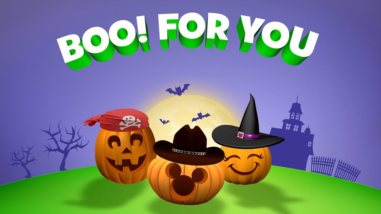 boo for you halloween music video disney junior youtube