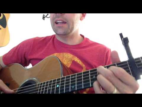 Your Hands - JJ Heller - Acoustic Guitar Tutorial