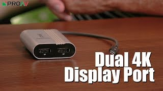 Dual Display Port From Sonnet