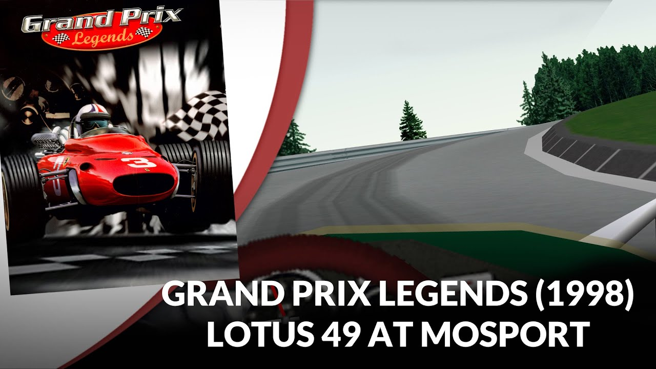Flashback 1998: Lotus 49 at Mosport in Grand Prix Legends