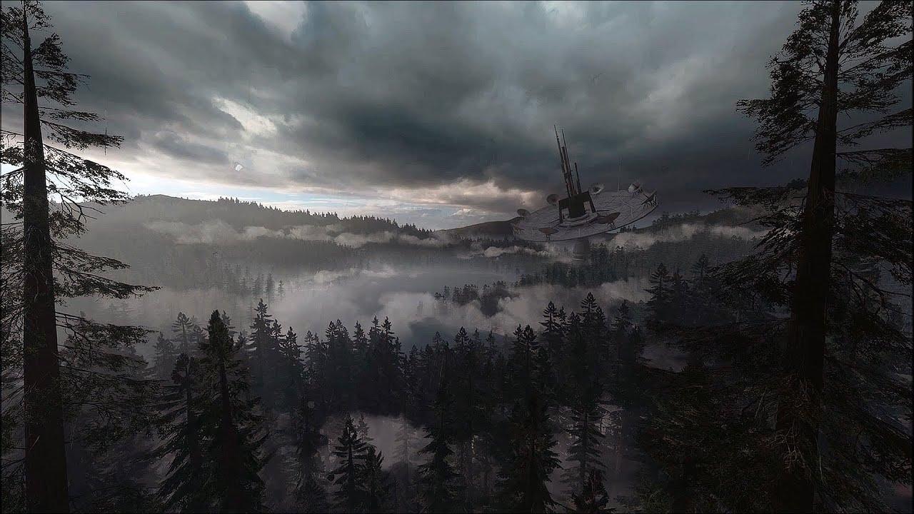 Star Wars Battlefront Endor Ambience Thunderstorm Sounds White