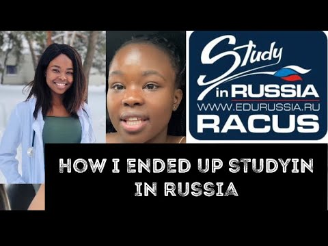 How I ended up studying ABROAD (Russia 🇷🇺) | how I got my Bursary | Medical student in Russia