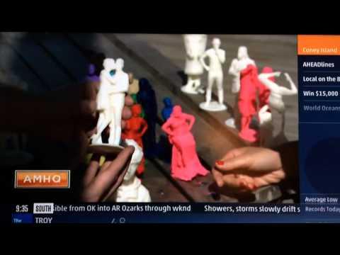 Coney Island Scan-A-Rama 3D portrait Studio on the Weather