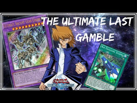 The Ultimate Last Gamble l Ultimate Ancient Gear Golem [Yu-Gi-Oh! Duel Links]