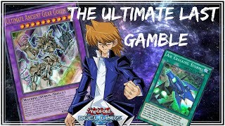 The Ultimate Last Gamble L Ultimate Ancient Gear Golem  Yu-gi-oh! Duel Links