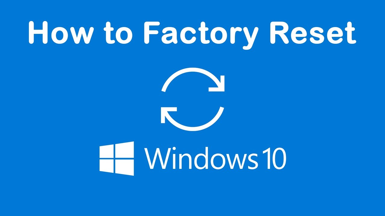 Acer laptops Factory reset on windows 10