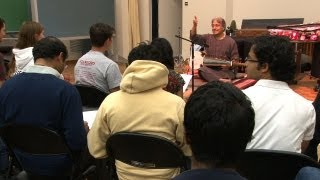North Indian Master Musician Teaches at Stanford