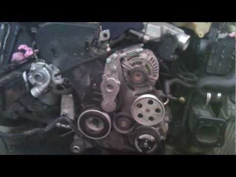 audi a4 turbo motor dañado 4.