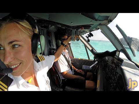 Maria... our paradise barefoot pilot!