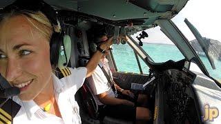 Maria... our paradise barefoot pilot!
