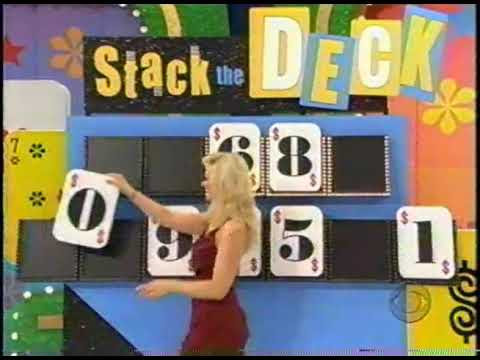 The Price is Right - Stack the Deck
