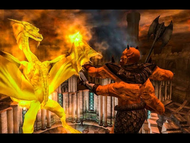 Oblivion Mehrunes Dagon Final Battle Youtube