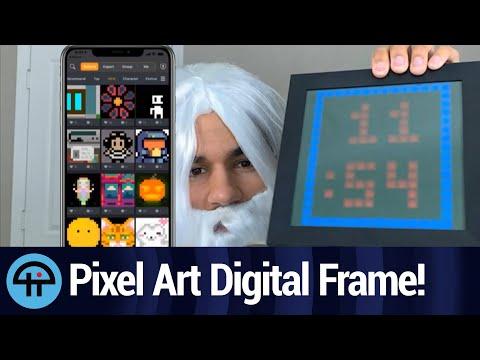 Divoom Pixoo Digital Frame Makes a Great Gift