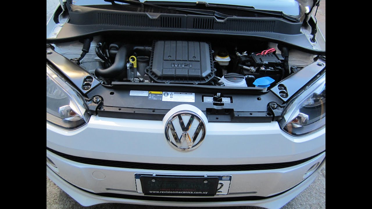 VOLKSWAGEN up! Y SU MOTOR de 3 CILINDROS - YouTube