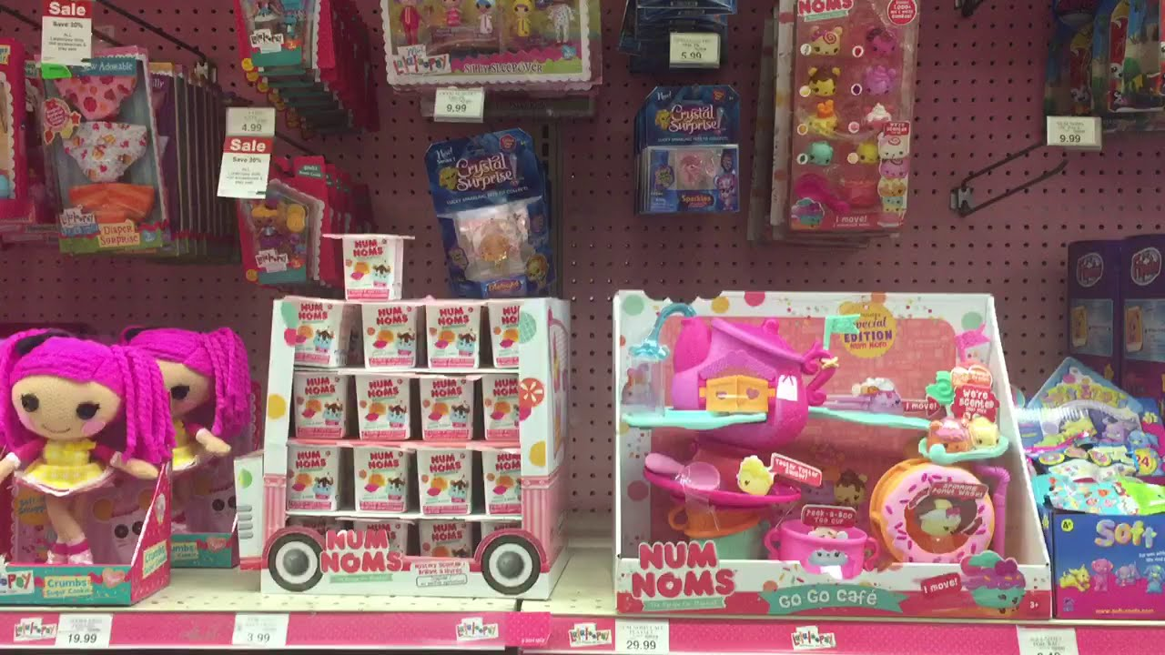 Toy Hunting 23 Num Noms Shoppies Lego Lalaloopsy Monster High