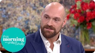 Tyson Fury Says He Wanted to End His Life Before Seeking Help With His Depression | This Morning