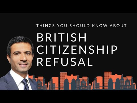 British Citizenship Refused – Good Character | A Y & J Solicitors