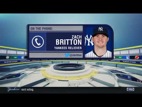 Zach Britton's first day in New York