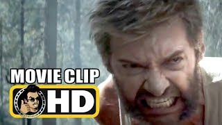 LOGAN (2017) Movie Clip - Rage of the Wolverine |FULL HD| Hugh Jackman Marvel Superhero Movie