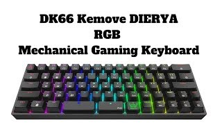 DK66 Kemove DIERYA RGB Mechanical Gaming Keyboard