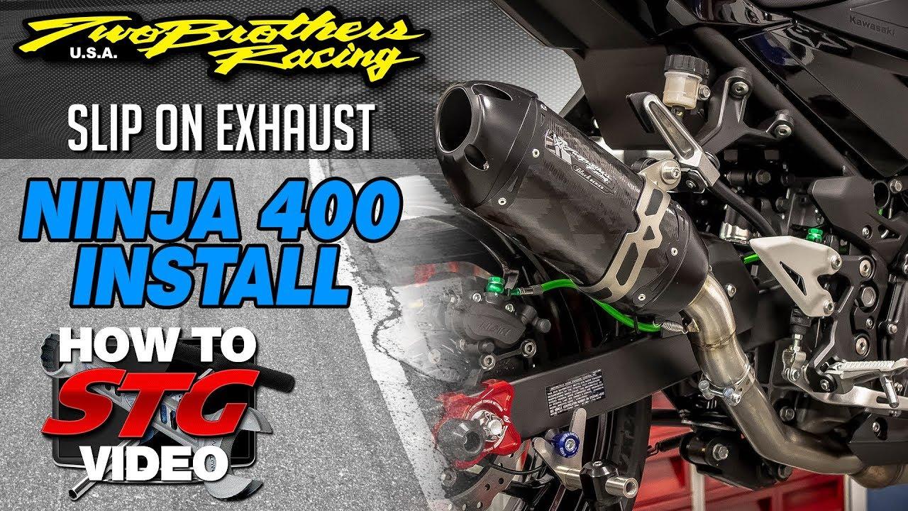 2018-2019 Kawasaki Ninja 400 STG How To Project Bike Build