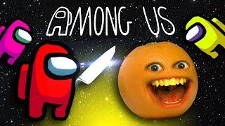 Annoying Orange is AMΟNG US!