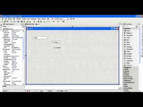 Delphi 2010 Tutorial 1 - Getting started