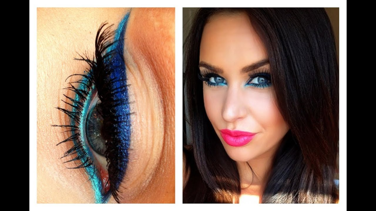 Create Your Own Colorful Liquid Liner Diy Youtube