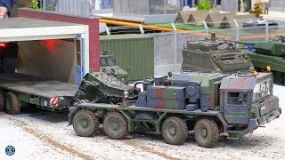Does the RC MILITARY TRUCK fit in the garage? ⛔️