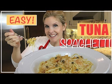 Easy Tuna Spaghetti Recipe - Only 5 Ingredients!
