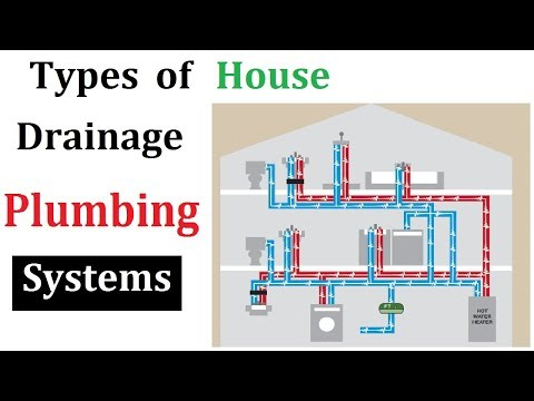 Types of plumbing system for house drainage - YouTube