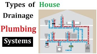 Types of plumbing system for house drainage