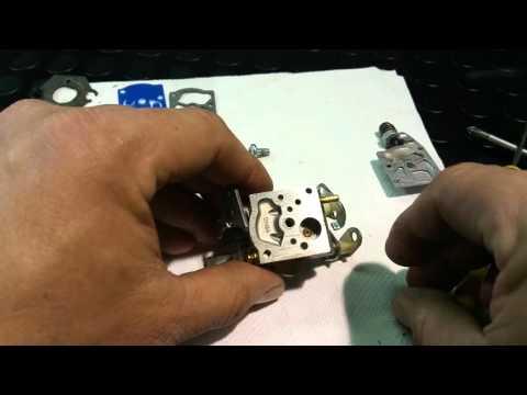 Montar Reparar Regular Carburador Motosierra Desbrozadora Www.Solomakinas.Com