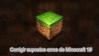 1# COMO CORRIGIR ERRO BAD VIDEO CARD DRIVER EM MINECRAFT