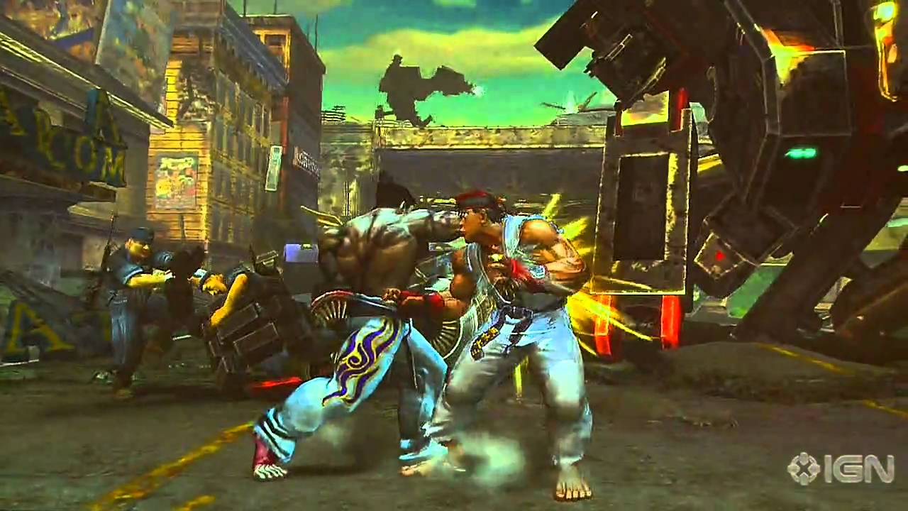 Street Fighter X Tekken Trainer Free Download
