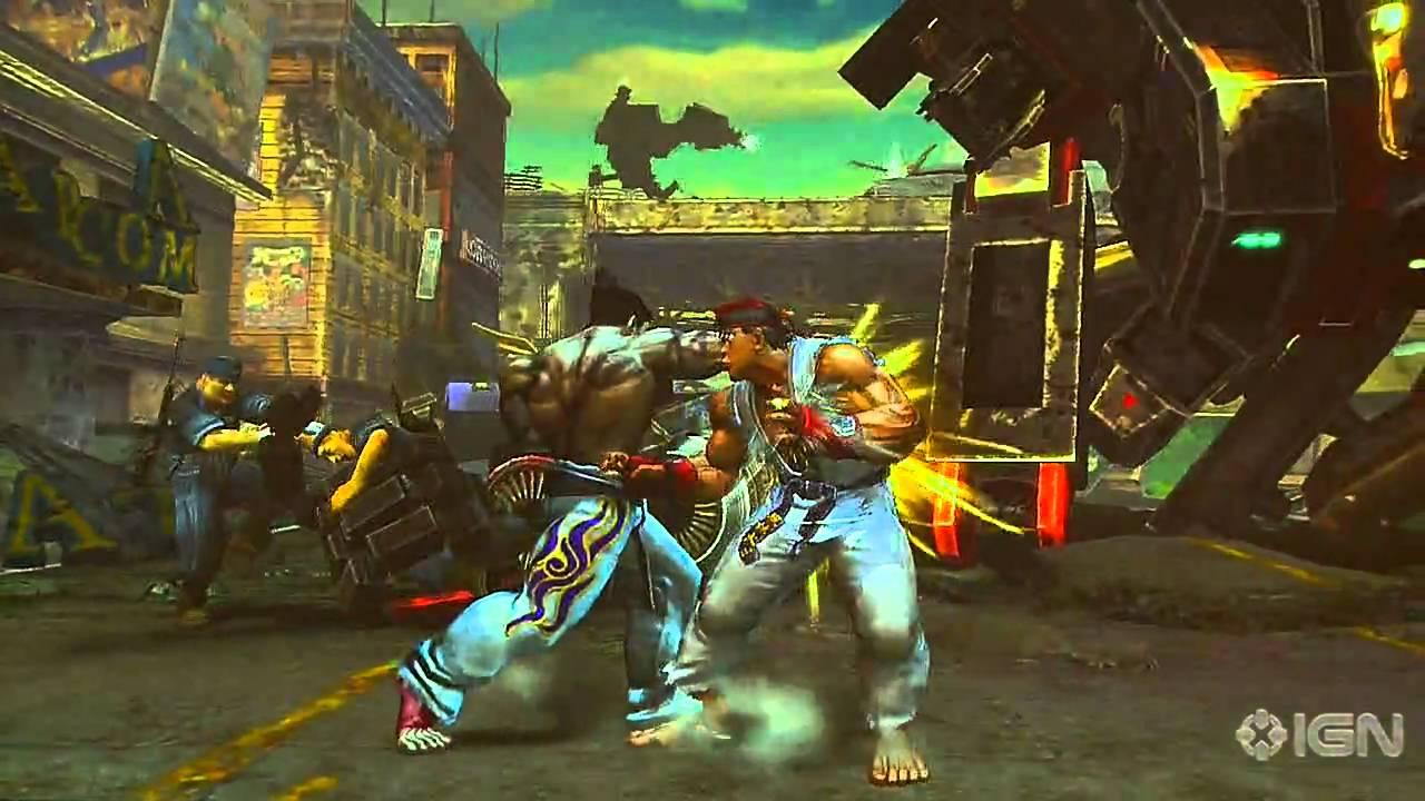 Street Fighter X Tekken Trainer Free Download