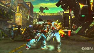 Street Fighter X Tekken Gameplay: Ryu vs. Kazuya - Gamescom