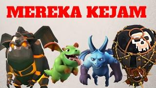 vuclip SADISNYA SERANGAN UDARA INI - Clash of Clans Indonesia