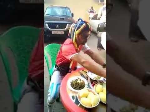 Gabon food man