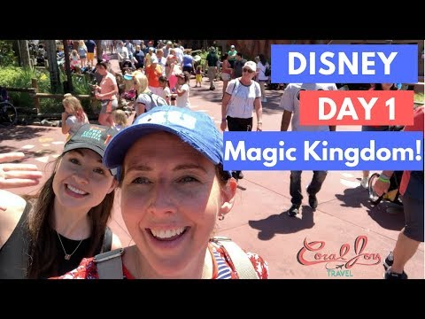 Walt Disney World Vlog: Day 1 Travel Day | Magic Kingdom | April 2018