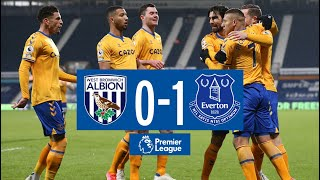 WEST BROM 0-1 EVERTON | PREMIER LEAGUE HIGHLIGHTS