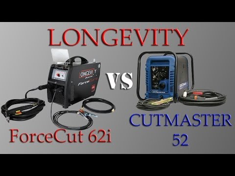 LONGEVITY FORCECUT 62i VS THERMAL DYNAMICS CUTMASTER 52 REVIEW PART 2