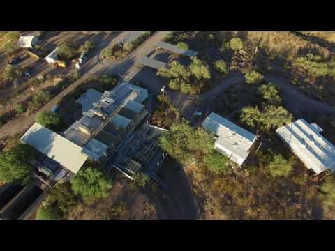 Drone Flight Over Monkey Research Center Mesa Arizona