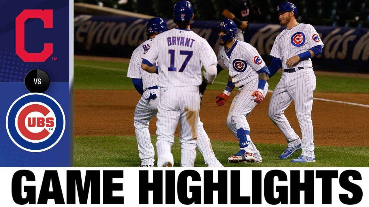 Javier Báez hits a walk-off single to lift Cubs | Indians-Cubs Game Highlights 9/16/20
